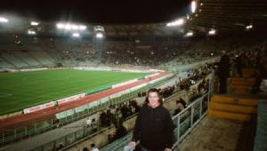 Jeff in Stadio Olimpico