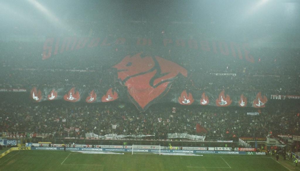 Milan tifo