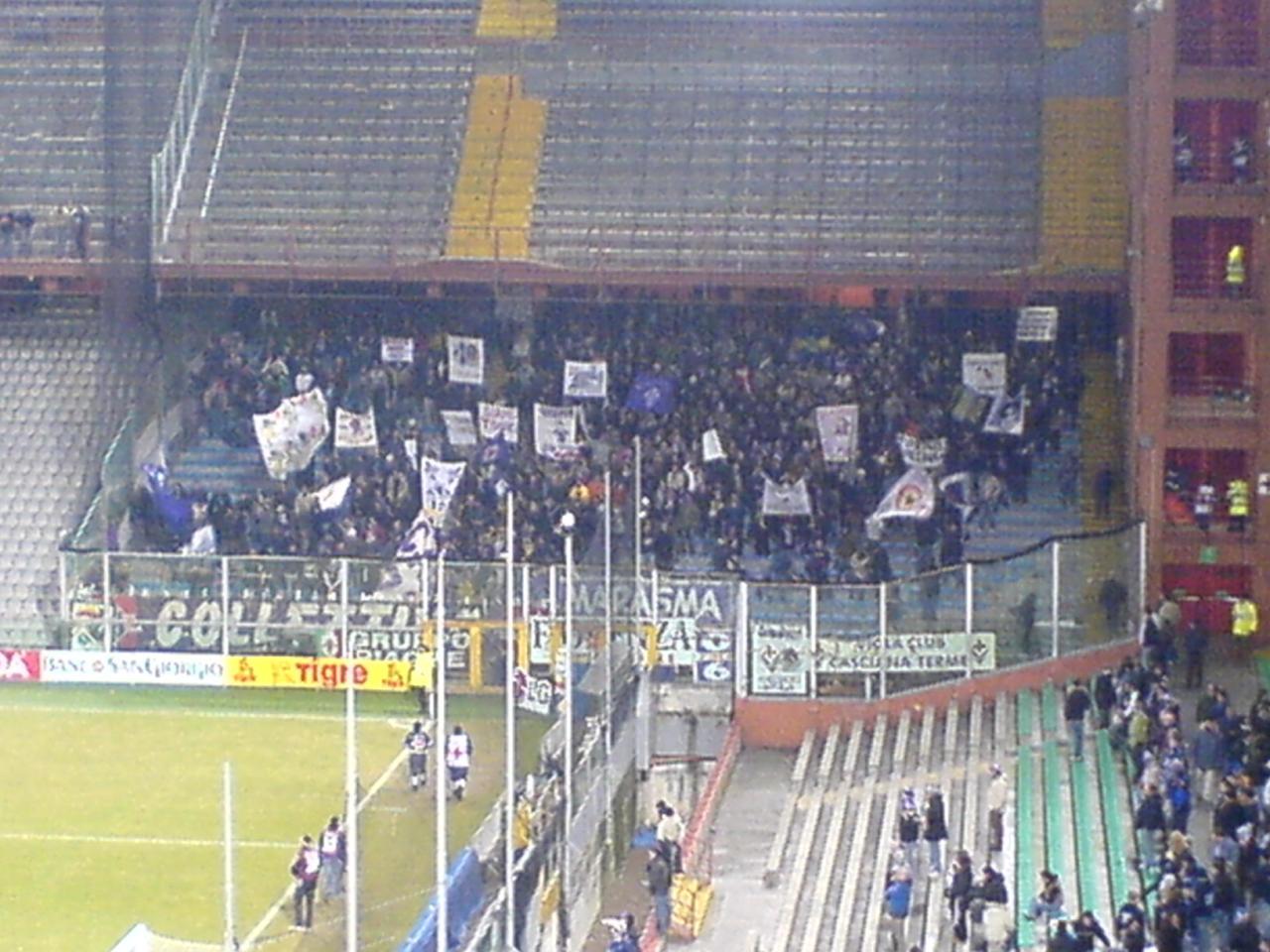 Samp - Fiorentina Away Fans