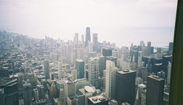 View from Sears Tower - Downtown