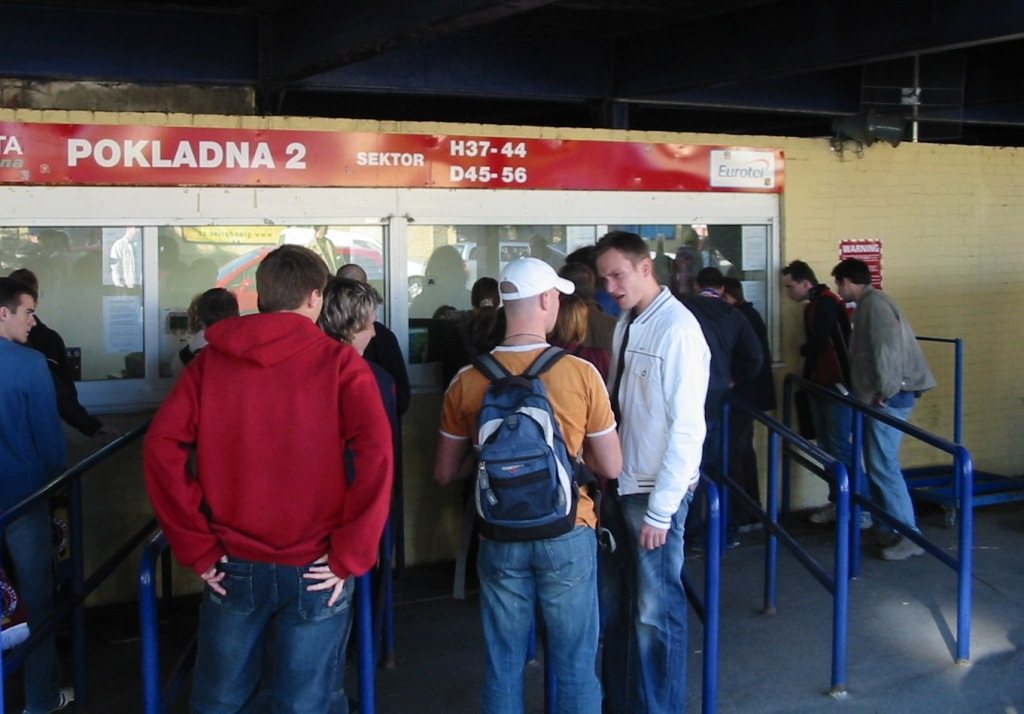 SP The ticket office a