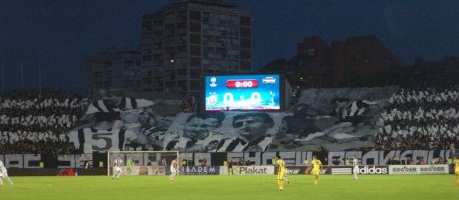 Partizan v Spurs 2