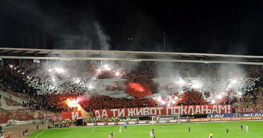 Red Star v Vozdovac 1