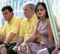 In the dug out: Svetlana Ražnatović