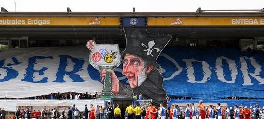 SV Damstadt v Kaiserslautern a